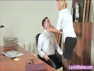ऑफीस बेब anna polina banged असली अच्छा