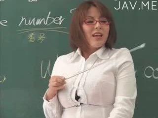 colegio, japonés, sexo en grupo