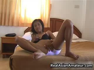 Orientalsk jente undresses henne limo av