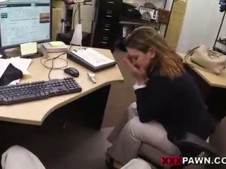 Foxy businesslady gets körd