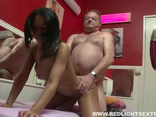 Reged old pervert gets young hot perek on cam