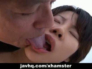 Haruka aida ist fingered und blowing schwanz uncensored