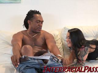 interracial, creampie, hd porno