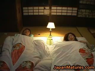 japanse, groepsseks, grote borsten