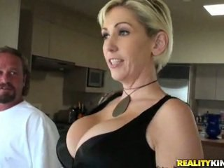 reality, big tits, cock ride