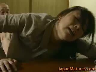 Japonská máma jsem rád šoustat has šílený pohlaví volný jav part1