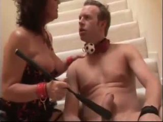 Hot mommy getting fucked by her personal slave