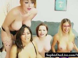 cam, group sex, fake tits