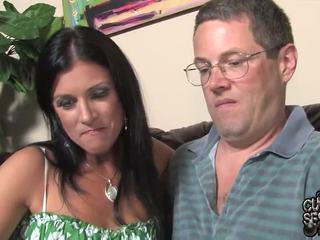 Marito watches pair oustanding nero zonkers bump suo moglie in questo cornuto band penetrate