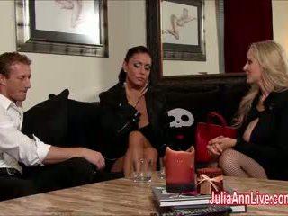 Julia Ann & Jessica are Bound, Gagged, & Fucked!