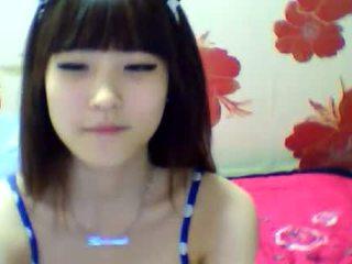 brunette, japanese, webcam