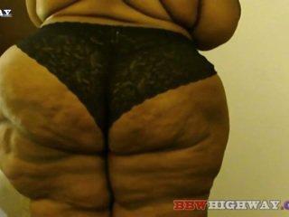 bbw, lemak, semula jadi