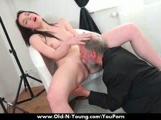 Old Guy Enjoys a Teen