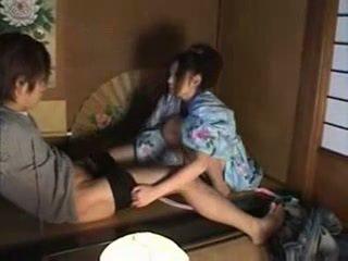 Nhật bản gia đình (brother và sister) giới tính part02