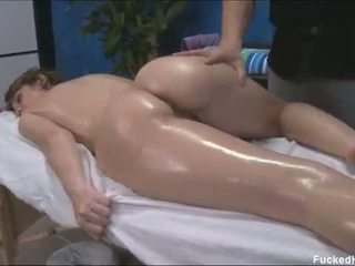 Hot blonde mom getting face fucked