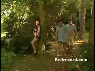 mmf, pornozvaigžņu, mežs
