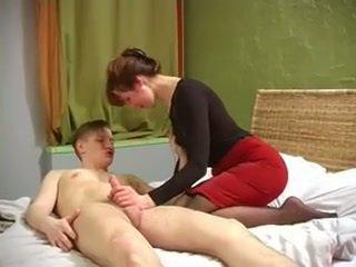 Orosz bevállalós anyuka -val szép muscles szar által nem neki fiú