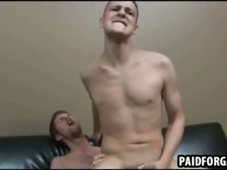 Disse two sexy amateru studs are having anal