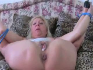 German mbah tied up and getting fucked hard in high