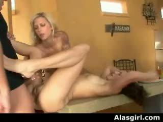pinaka- threesome, ffm, real pornstars