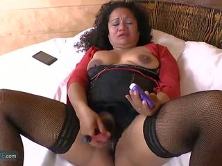 Agedlove Latina Sharon Fucking Hard with Youngster: Porn c0