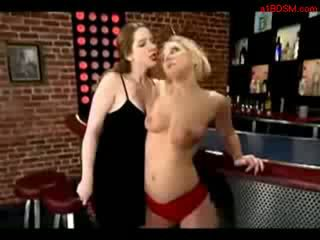 Blonde Girl Whipped Getting Her Ass Sp...