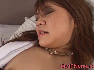 Ai niimura hawt asiatisch krankenschwester enjoys sie