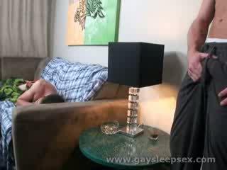 Sleeping roomate woken up to sexual situation