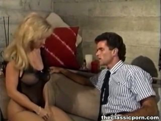 Big Titted Blonde Onto Fat And Huge Stick