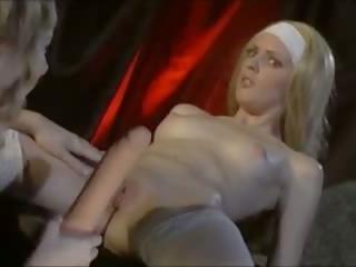блондинки, лесбийки, анален