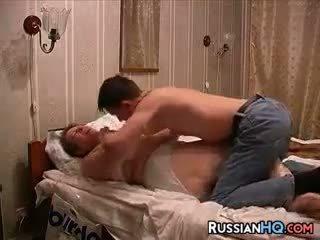 Russisch pärchen machen ein sex tape