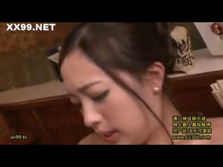 брюнетка, oral sex, японски