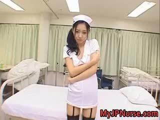 Aino Kishi Asian Nurse Spreads Her Legs Part5