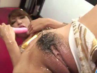 Diildo sensations untuk curvy pantat/ punggung asianaya sakuraba