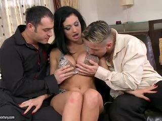 sesso hardcore, doppia penetrazione