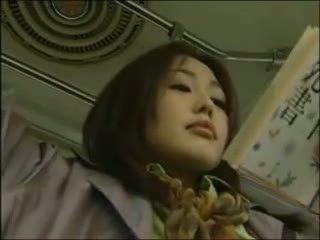 יפני לסבית אוטובוס סקס (censor.