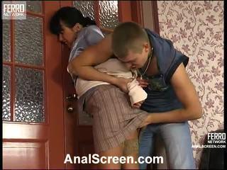 Barbara och patrick kåta anala klämma