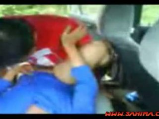 Indonezian painful la dracu în o masina