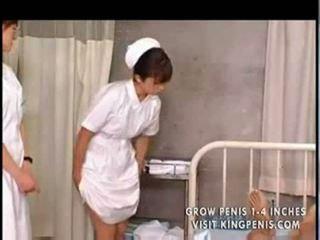 Hapon mag-aaral nurses training at pagsasanay part1
