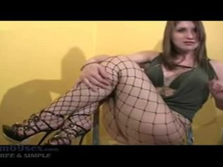 chubby, instructions clip, check fishnets action