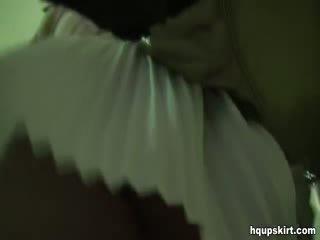 惊人 掀裙 在 质量 视频