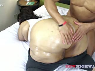 stora rumpor, svart och ebony, stora naturliga bröst