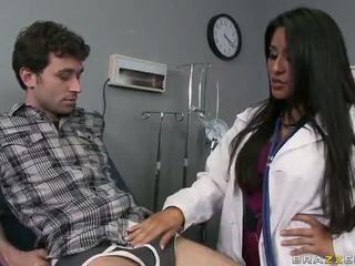 Grande culo doctor jenaveve jolie wants a gets follada duro vídeo