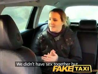 Faketaxi første tid anal virgin takes på stor thick kuk