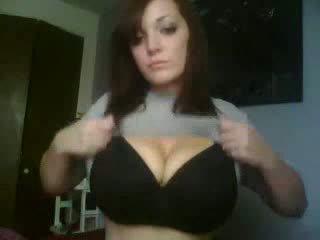 Chutné webkamera dievča domáce video