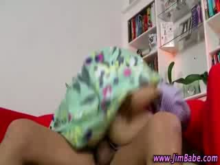 Sexy stockinged slutty teen