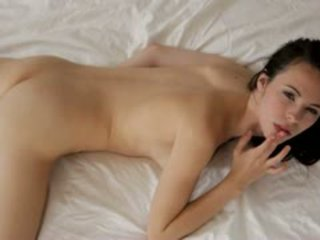 Veronica Radke Gives Her Slender Body A Tit Massage And