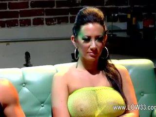 Malena morgan dengan bewitching glamor babe