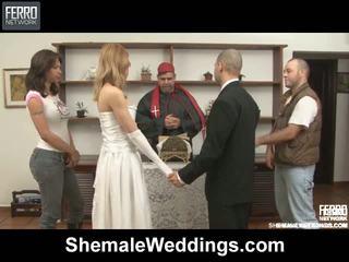 Alessandra tony シーメール 結婚式 セックス