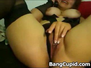 Sexy mdtq masturbim dhe toying të saj bythë